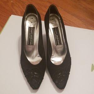 Stuart Weiztman Lace toed pumps